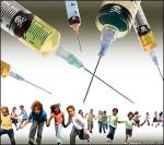 vaccines - children running