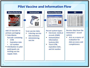 CDC Pilot Vac and Info Flow