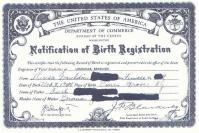 BirthCertificate