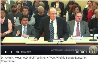 Dr Alvin Moss Testimony